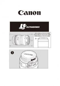 Canon EF 55-200mm f4.5-5.6 USM, EF 55-200mm f4.5-5.6 II USM, EF 80-200mm f4.5-5.6 USM - инструкция по эксплуатации
