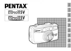 Pentax Espio 115V - инструкция по эксплуатации