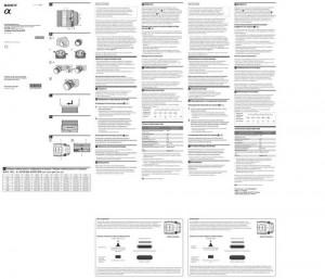 Sony 135mm f/2.8 [T4.5] STF (SAL135F28) - инструкция по эксплуатации