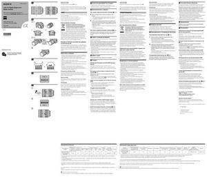 Sony Carl Zeiss Vario-Sonnar T* 24-70mm f/2.8 ZA SSM (SAL2470Z) - инструкция по эксплуатации