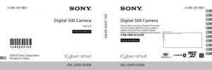 Sony Cyber-shot DSC-QX10, Cyber-shot DSC-QX100 - инструкция по эксплуатации