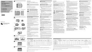 Sony DT 11-18mm f/4.5-5.6 (SAL1118), DT 18-70mm f/3.5-5.6 (SAL1870), DT 18-200mm f/3.5-6.3 (SAL18200) - инструкция по эксплуатации