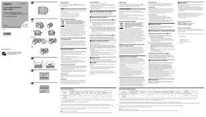 Sony DT 16-105mm f/3.5-5.6 (SAL16105) - инструкция по эксплуатации