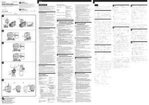 Sony HVL-FDH4 - инструкция по эксплуатации