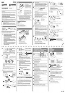 Epson L655 - руководство по установке