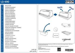 Epson lq 690 инструкция