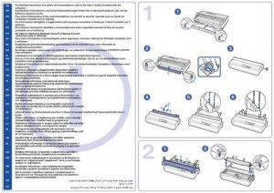Epson LX-300+ II, LX-1170 II - руководство по установке