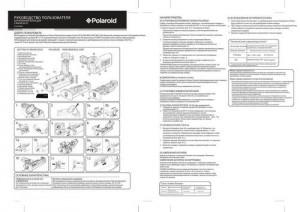 Polaroid BG-E9 для Canon 60D - руководство пользователя