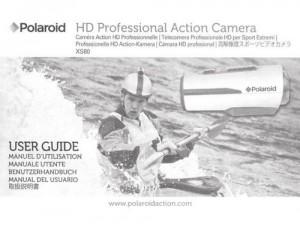 Polaroid XS80 - руководство пользователя