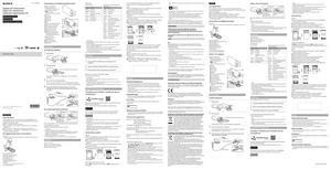 Sony HDR-AS30, HDR-AS30V - руководство по эксплуатации